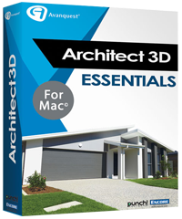 Architect 3D Mac Essentials (V19)