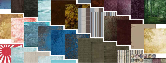 Choose from a vast range of colours and materials