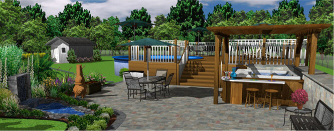 Outdoor landscaping and more