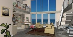 Open Plan Loft Architect 3D