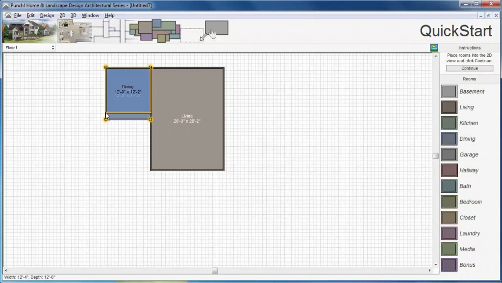QuickStart Wall Architect 3D