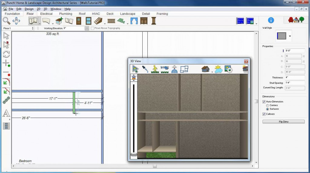 Wall Tool Architect 3D